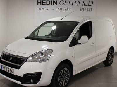 begagnad Peugeot Partner Van 1.6 BlueHDI 99HK Automat