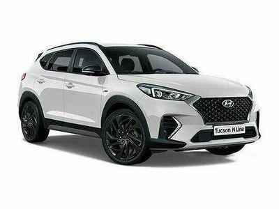 begagnad Hyundai Tucson 1.6 T-GDi DCT 4WD N Line Limited Edition