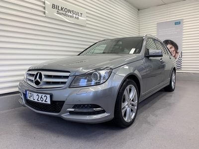 begagnad Mercedes 220 C-Klass KombiCDI 4MATIC Automat Business Plus / Webasto / Navi / Drag