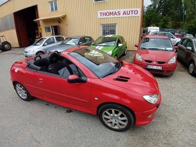 begagnad Peugeot 206 CC 2,0