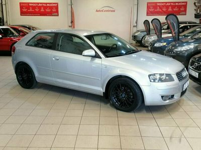 begagnad Audi A3 1.6 Attraction 102hk Nybes
