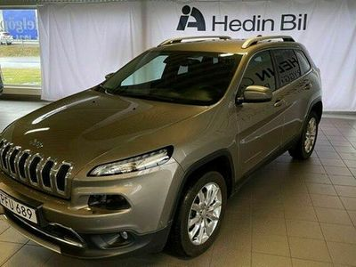 begagnad Jeep Cherokee Limited 2.2 CRD 4WD NAVI SKINN BACKKAMERA EU6