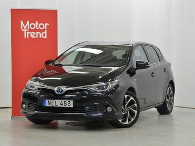 begagnad Toyota Auris Hybrid Active Plus Comfort Dragkrok