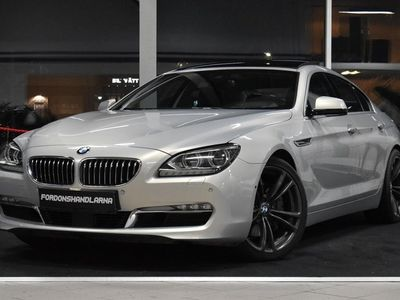 begagnad BMW 640 XDRIVE PANORAMA GRAN COUPE 313HK