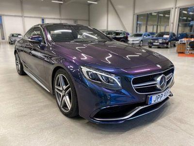 begagnad Mercedes S63 AMG S BenzAMG 4MATIC Coupé AMG Speedshift MCT 2015, Sedan 739 900 kr