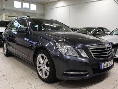 begagnad Mercedes E350 CDI 231hk Taklucka Drag -11