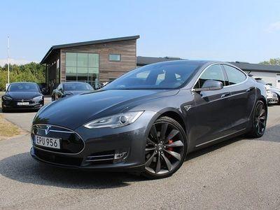begagnad Tesla Model S P90D Ludicrous Supercharger Autopilot UltraHifi Luftfjädri 2015, Sedan 719 000 kr