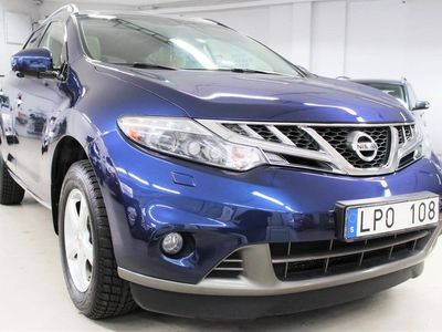 begagnad Nissan Murano 2.5 dCi 4x4 Automat 190hk -11