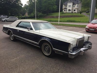 begagnad Lincoln Continental ContinentalV Bill Blass 1979