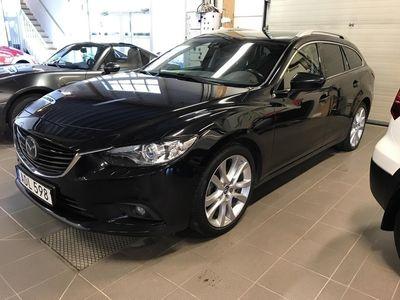 begagnad Mazda 6 6 Wagon 2.2D Automat Euro175hk Optimum inkl drag, vhjul, mv