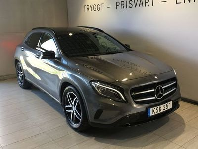 brugt Mercedes GLA200 SE Edition, Nightpackage, Automat, Nyservad