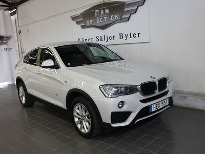 begagnad BMW X4 xDrive20d Steptronic Euro 6 190hk