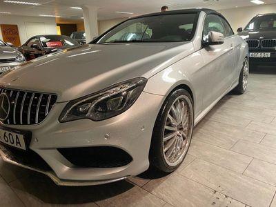 begagnad Mercedes E400 Cabriolet 7G-Tronic Plus AMG Sport Kleemann Euro 6 333hk