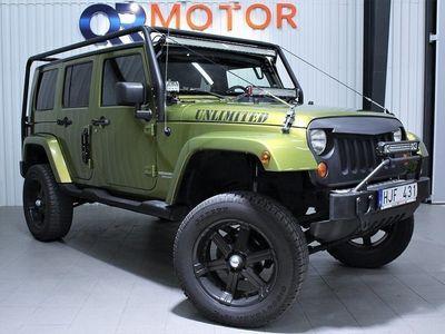 begagnad Jeep Wrangler Unlimited 3.8 V6 4WD Automat 19 -07