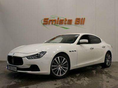 begagnad Maserati Ghibli Diesel Navigation Active Exhaust Keyless 275hk