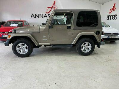 begagnad Jeep Wrangler 4.0 177Hk 4WD Automat *5333mil* Sahara Edition