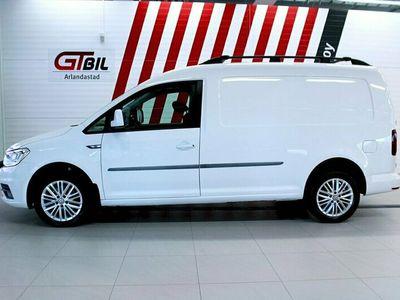 begagnad VW Caddy Maxi 2.0 TDI 4M Nyservad DSG Värmare 150hk