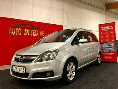 begagnad Opel Zafira Automat 7-sits,Ny besk, ny service