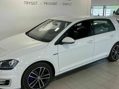 begagnad VW Golf Volkswagen Golf GTE 1.4 TSI DSG Sekventiell, 204hk,