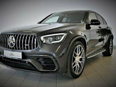 begagnad Mercedes GLC63 AMG A Benz AMGS Coupé 4MATIC Fullt utr 2019, Halvkombi Pris 1 150 000 kr
