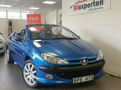 begagnad Peugeot 206 CC 2.0 136hk 9214 MIL