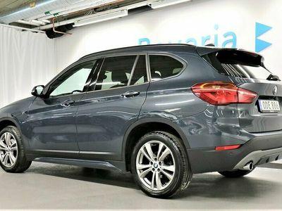 begagnad BMW X1 sDrive18d sDrive 18d Model Sport Backkamera Head-Up Läder