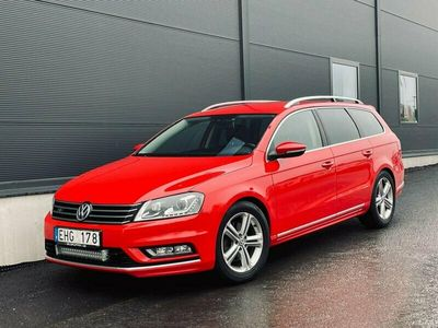 begagnad VW Passat 2.0 TDI 4Motion/BlueMoti/DSG/R-line/D-värm