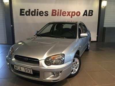 second-hand Subaru Impreza Sedan 2.0 4WD 125hk -04