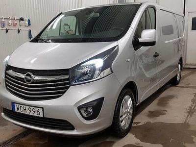begagnad Opel Vivaro L2H1 1.6 CDTI BIturbo Euro 6 2017, Transportbil 180 000 kr