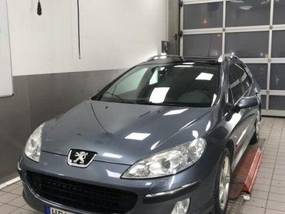 begagnad Peugeot 407 SW Nyskattad, bes t.o.m 20201130