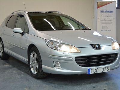 begagnad Peugeot 407 SW 2,2 HDI 170HK/PANORAMA/DRAGKROK