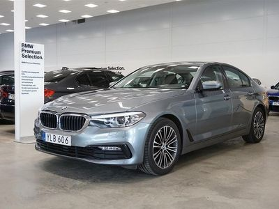 begagnad BMW 520 d Sedan Sport Aut Drag Navi