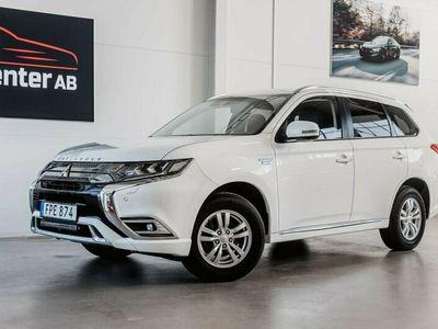 begagnad Mitsubishi Outlander P-HEV 2.4 Hybrid 4WD CVT Business 230hk