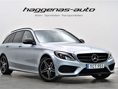 begagnad Mercedes C200 AMG / 7G-Tronic / Night Pack