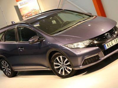 brugt Honda Civic 1.6i-DTEC Tourer fullservad Svensks såld 2014, Personbil 94 900 kr