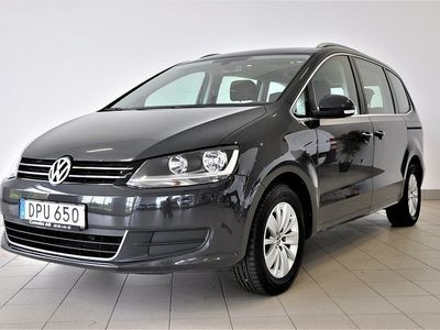begagnad VW Sharan 2.0 TDI Blue 7-sits 140hk
