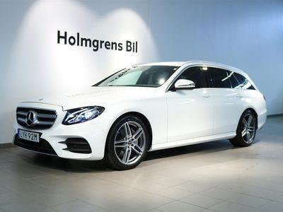 begagnad Mercedes E220 AMG Kombi, Navi, Kamera, Drag