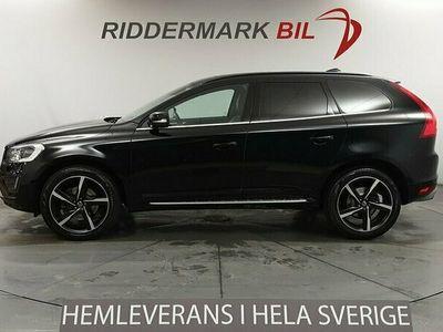 begagnad Volvo XC60 D5 AWD Black R Business E PRO 215hk Voc Panorama