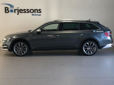 begagnad Skoda Superb Scout 2.0 TDI 190hk Businesspaket