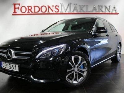 begagnad Mercedes C350e KOMBI PLUG-IN HYBRID 211HK