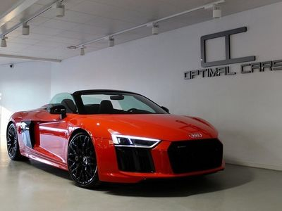 begagnad Audi R8 Spyder V10 Black Edt. Exclusive