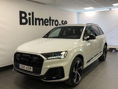 begagnad Audi Q7 60 TFSI e quattro Tiptronic S-line 2021, SUV Pris 1 075 000 kr