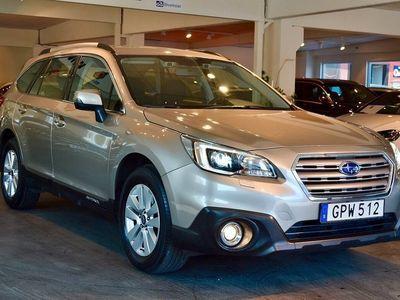 begagnad Subaru Outback 2.0 4WD Aut Drag 2015, Kombi 209 800 kr