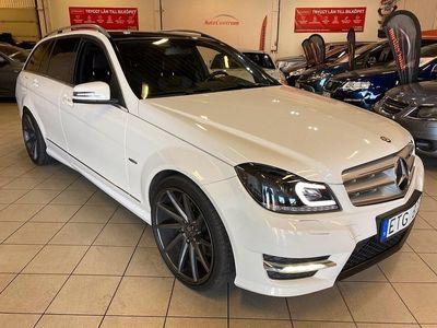 begagnad Mercedes C200 T CDI BE 7G-Tronic AMG Plus Sport 136hk 0:- KR Kontantinsats