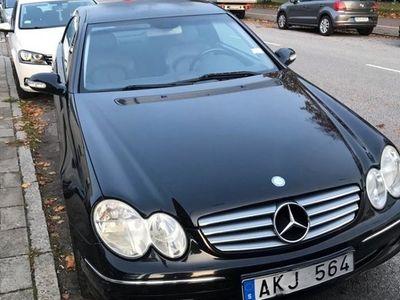 begagnad Mercedes CLK240