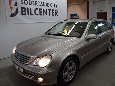 begagnad Mercedes C200 C-KlassT Kompressor 163HK/ SKINN/SVENSKSÅLD