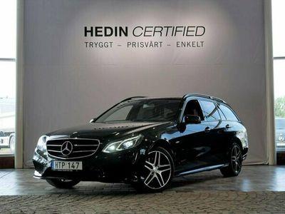 begagnad Mercedes E250 4Matic AMG NIGHTPACKAGE/NAVI/VÄRMARE/DRAG