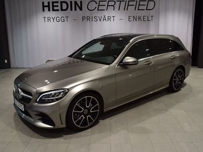 begagnad Mercedes C220 - Benzd / / AMG - paket / / Dragkrok
