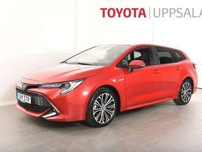 begagnad Toyota Corolla Touring Sports Hybrid Kombi 1,8 Elhybrid Style Teknikpkt