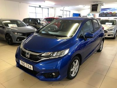 begagnad Honda Jazz 1,3 ELEGANCE AUT 102hk 1300 mil S+V-hjul